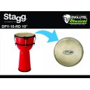 Djembe Stagg DPY 10RD - 10""