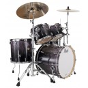 Pearl Masters MCX924XSP cor 810 4PC Shell Pack Ash Fade Tamo