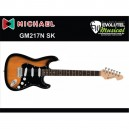 Guitarra Michael GM217 SK / Stratocaster / Black Sunburst